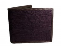 gothic wallet sharkskin