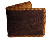 Tough sharkskin wallet