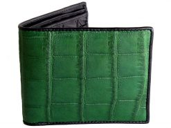 green croc wallet on sale