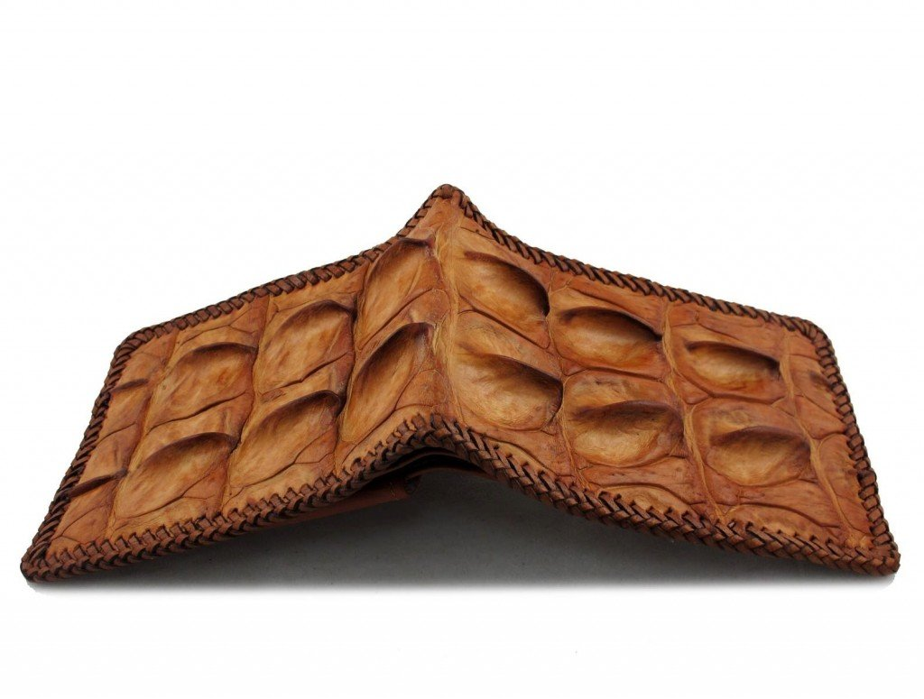 tough croc wallet