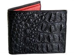 Alligator Wallets For Sale Black n Red