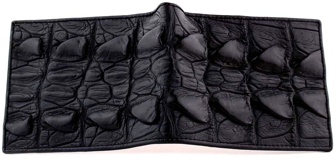 Black Gator Wallet By RMW
