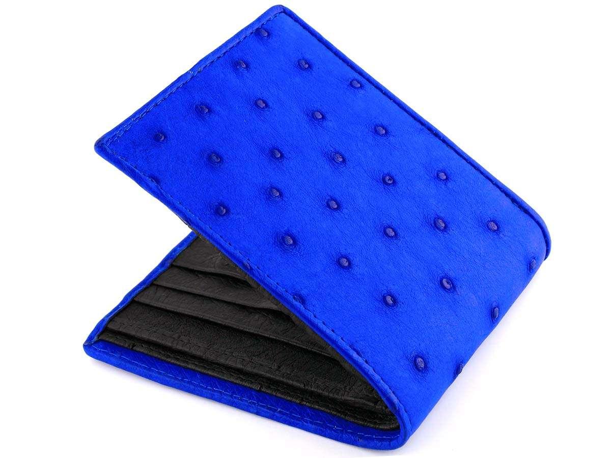 Blue Ostrich Wallet