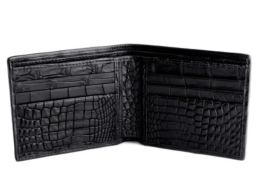 Genuine Croc Wallet On Sale Classic Black Mens Wallet