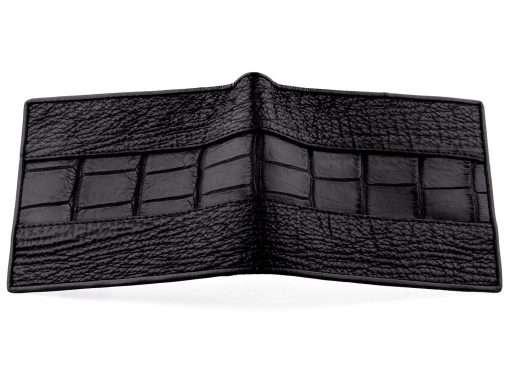 Crocodile Shark Series Wallet On Sale Black n Red Interior