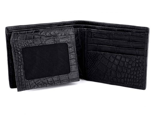Crocodile Skin Wallet Green Wallet