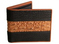 Crocodile Wallets Signature Series Tan