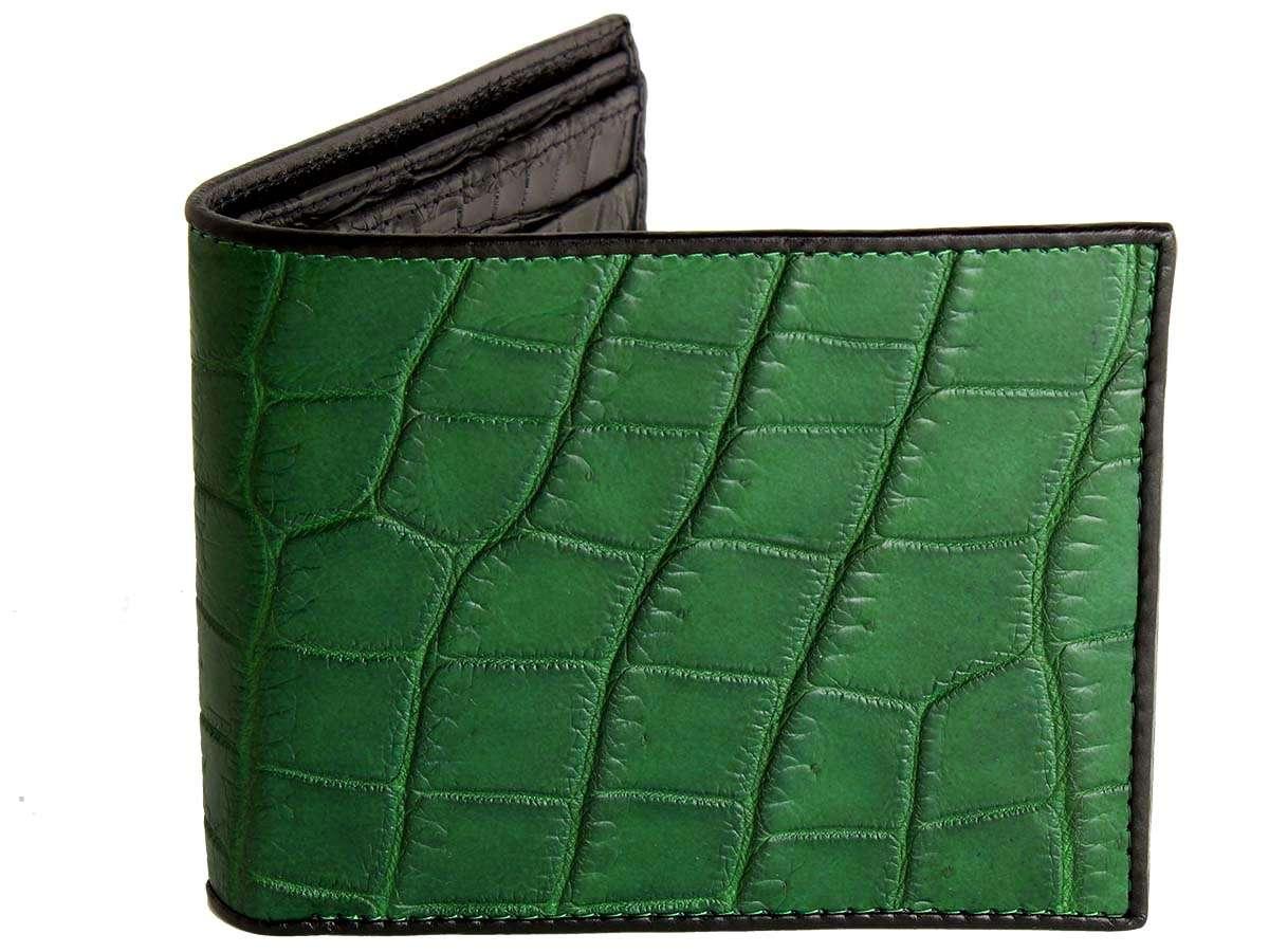 Green Alligator Wallet