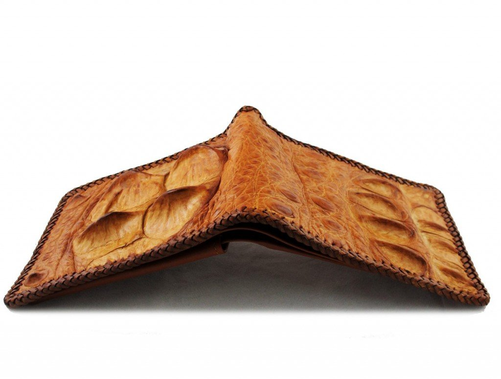 tough crocodile wallet