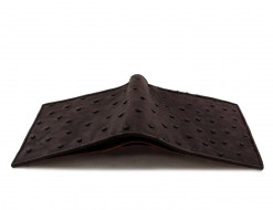 ostrich skin wallet
