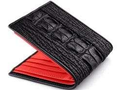 Shark Alligator Wallet Custom Mens Wallets