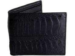 Mens Wallet Ostrich Skin Wallet