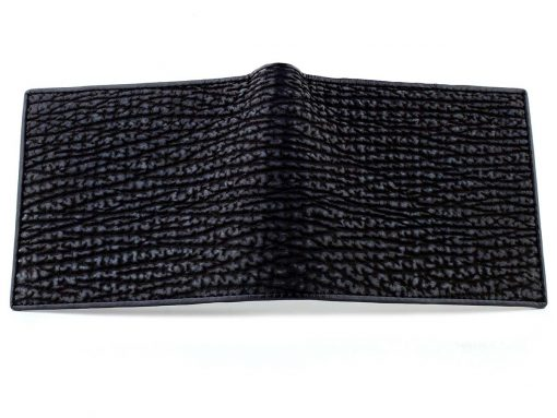 Shark Skin Wallet Black n Blue
