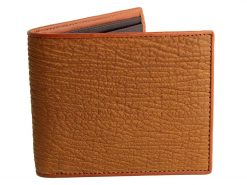 Shark Wallet Mens Tan Wallet