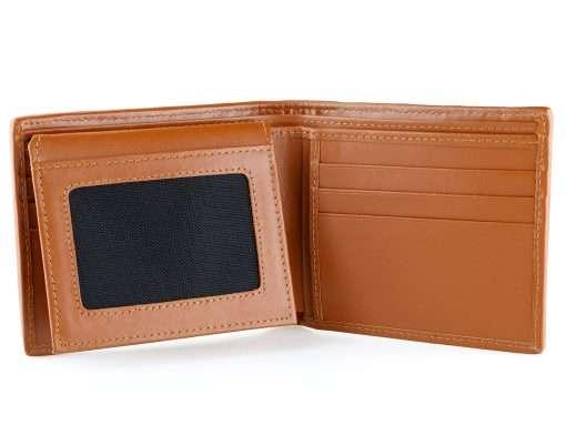 Sharkskin Wallet Mens Shark Wallet Brown n Tan
