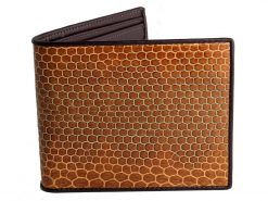 Snakeskin Wallets Tan