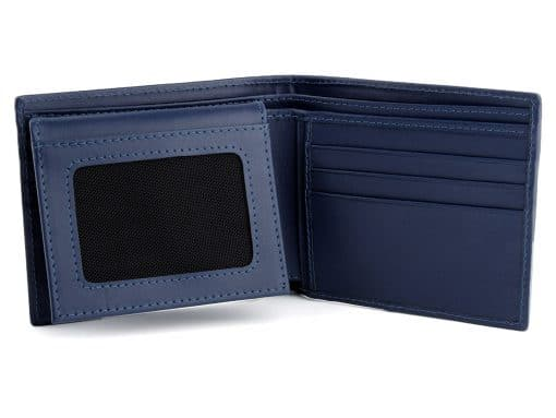 Stingray Leather Wallet Blue