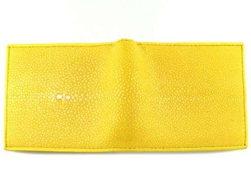 Stingray Leather Wallet Lemon