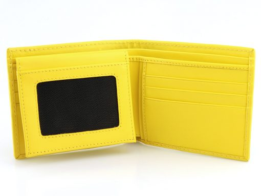 Stingray Leather Wallet Lemon