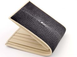 Stingray Wallet Black n Cream