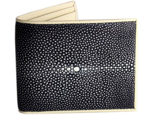Stingray Wallet Black n Cream