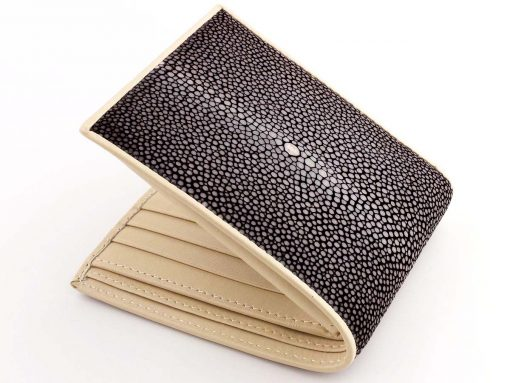 Stingray Wallet Choc Cream