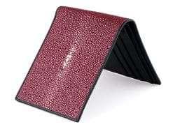 Stingray Wallet Genuine Stingray Skin Purple