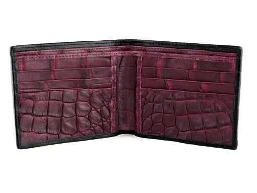 Wallet Crocodile Wallets For Men Genuine Croc Wallet