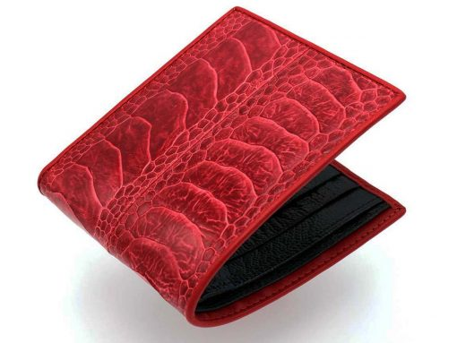 genuine ostrich wallet