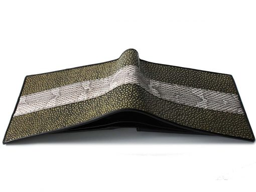 snake and stingray wallet