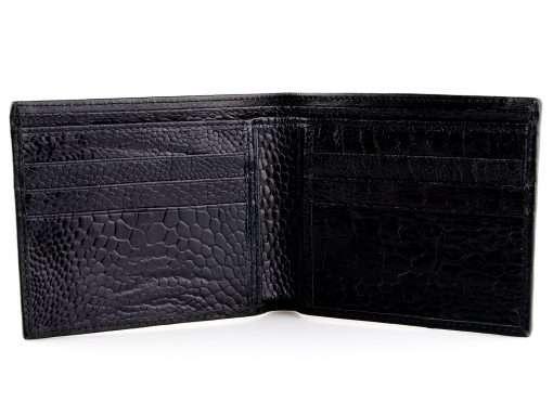 stingray skin wallet red n black