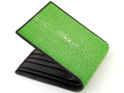 wallet stingray green